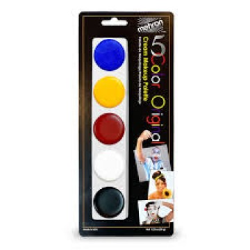 5 color original cream make up palette