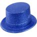 Blue Glitter Hat