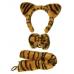 Fluffy Tiger Animal Set