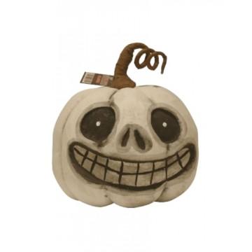 Smiley Ghost Pumpkin