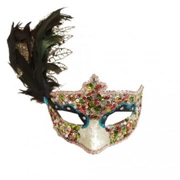 Feathered Masqurade Eyemask (Multicolour)