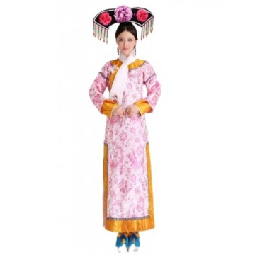 Ancient Chinese Qing Han Dynasty - Pink