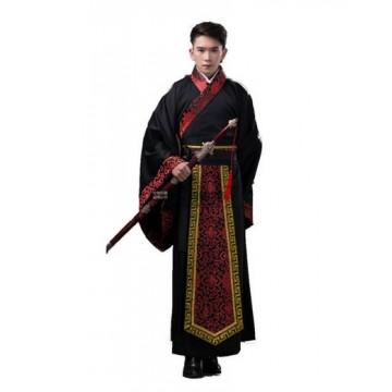 Black Ancient Chinese Hanfu