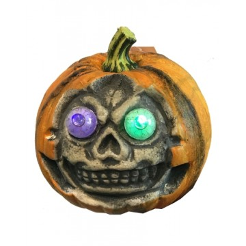 Pumpkin With Changing Light Eyeball