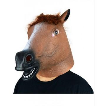 Brown Horse Latex Mask