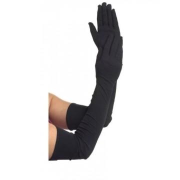 Black Long Gloves