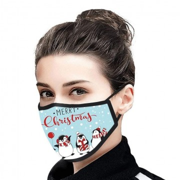 Merry Christmas Facemask