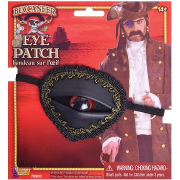Buccaneer Pirate Eyeball Eye Patch