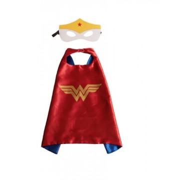 Wonder Woman Cape & Eye mask (Kids)