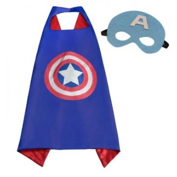 Superhero capes - captain america (adult)