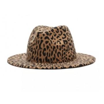 Fedora Leopard Hat